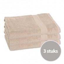 Clarysse Voordeelpakket Talis Badlaken Zand 3 stuks